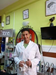 Mounir, a barber in Malaga