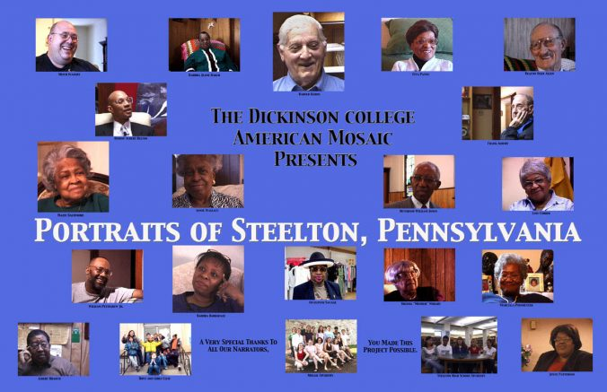Faces of Steelton Poster